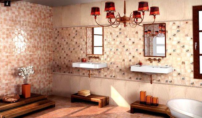 Дизайн ванной комнаты Астана. Фото