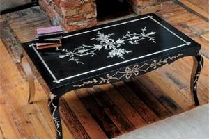Обновить старый стол своими руками фото