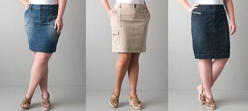 Какие юбки стройнят