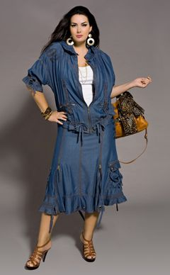 Стильная модная одежда больших размеров с доставкой