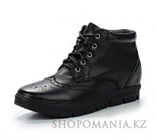3c47b499c Женские ботинки осень-зима на платформе, на танкетке, со шнурками ...