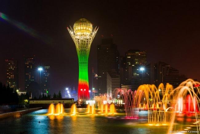 Астана Достопримечательности Фото и названия на карте города что посмотреть за 1 день куда сходить туристу