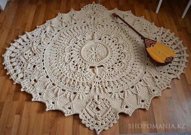 шнур полиэфирный для вязания ковров сумок покрывал крючком